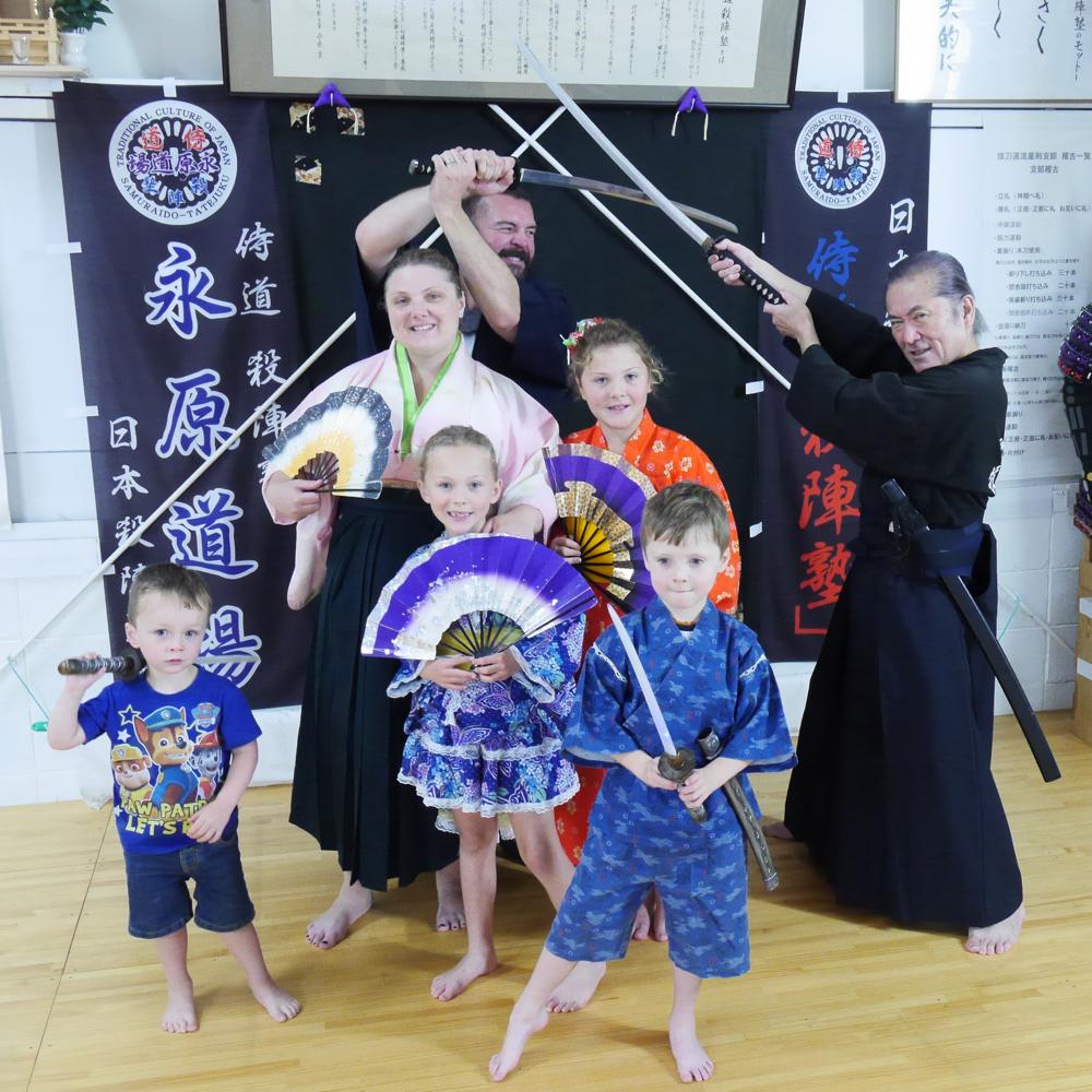 Samurai Ninja Experience Cultural Activities For Families